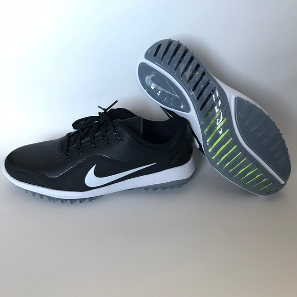 wholesale dealer af8cf 7ab8b Nike Lunar Control Vapor 2 Black White Golf Shoes